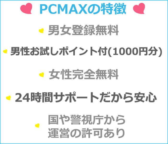 PCMAXが安全な証拠